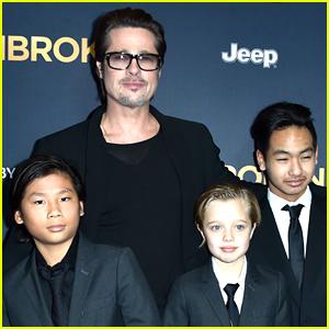 Brad Pitt Reveals When He Will Celebrate Awards Season with His Kids