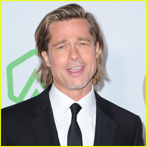 Brad Pitt Talks Celebrating Awards Season Wins With His Kids