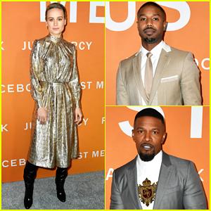 Brie Larson, Michael B. Jordan & Jamie Foxx Celebrate 'Just Mercy' Premiere in L.A!
