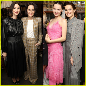 Caitriona Balfe, Michelle Dockery & More Get Together at 'InStyle's Badass Women Dinner!