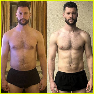 Calum Scott Shows Off His 2018 Body Transformation While Setting 2020 Fitness Goals