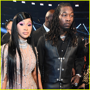 Cardi B Drips in Diamonds at Grammys 2020 with Offset