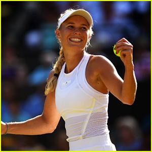 Caroline Wozniacki Plays the Final Match of Her Career