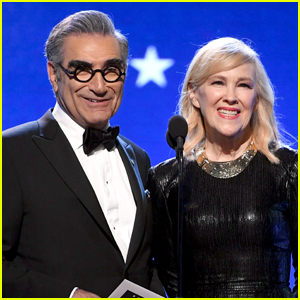 Eugene Levy & Catherine O'Hara Reveal They Once Dated! (Video)