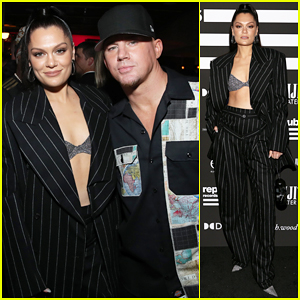 Jessie J & Channing Tatum Couple Up for Republic Records Grammy After Party!