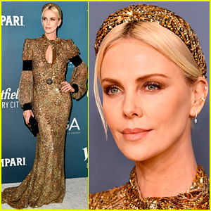 Charlize Theron is a Gold Goddess at Costume Designers Guild Awards 2020