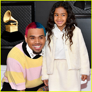 Chris Brown's Daughter Royalty is His Grammys 2020 Date!