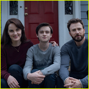 Chris Evans, Michelle Dockery, & Jaeden Martell Star in 'Defending Jacob' First Look!