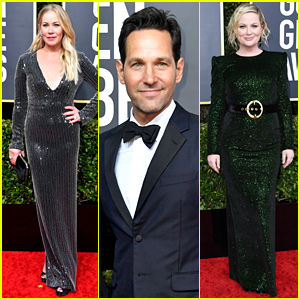 Christina Applegate, Paul Rudd, & Amy Poehler Enjoy Night Out at Golden Globes 2020