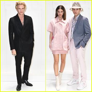 Cody Simpson, Dylan Sprouse & Barbara Palvin Sit Front Row at Fendi Milan Fashion Show!
