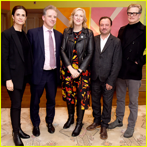 Colin Firth & Wife Livia Split Host Special Screening Weeks After Announcing Split!