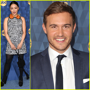 Constance Wu & The Bachelor's Peter Weber Hit Up ABC's Winter TCA Party