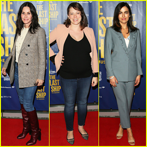 Courteney Cox, Camilla Belle & More Celebrate 'The Last Ship' Opening Night Performance!