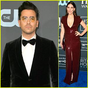 'Schitt's Creek' Stars Dan Levy, Sarah Levy, Catherine O'Hara & More Step Out For Critics' Choice Awards 2020
