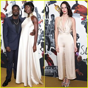 Daniel Kaluuya & Pregnant Jodie Turner-Smith Celebrate 'Queen & Slim' UK Premiere!