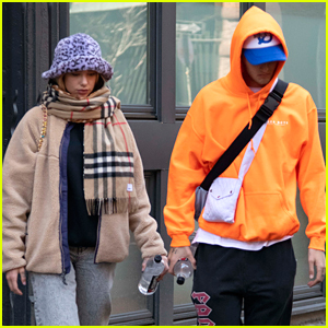 Dua Lipa Meets Up With Anwar Hadid After Promoting Her New Music
