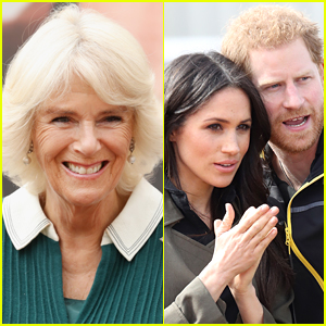 Duchess Camilla's Response to a Prince Harry & Meghan Markle Question Is Gaining Some Attention - Watch the Video!