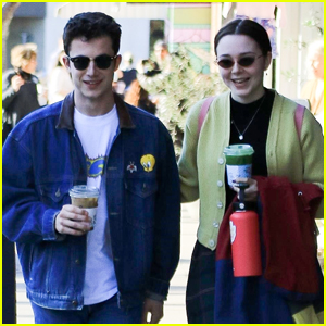 Dylan Minnette & Girlfriend Lydia Night Step Out on Coffee Date