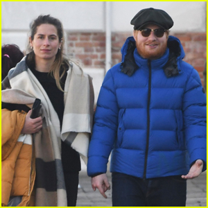 Ed Sheeran & Wife Cherry Seaborn Hold Hands While Sightseeing in Venice!