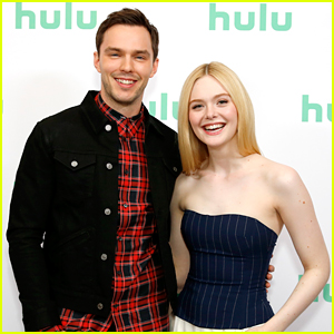 Nicholas Hoult & Elle Fanning Step Out For 'The Great' Panel During Winter TCA