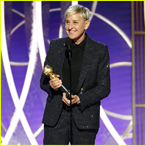 Ellen DeGeneres Thanks Her 'Husband' While Accepting Carol Burnett Award at Golden Globes 2020