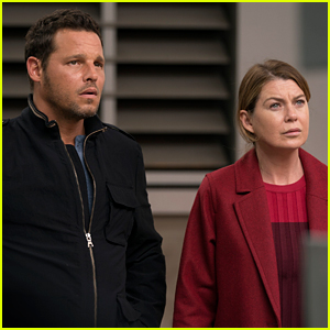 Ellen Pompeo Reacts to Justin Chambers' Exit from 'Grey's Anatomy'