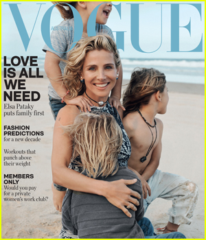 Elsa Pataky Covers Vogue Australia with Daughter India & Sons Tristan & Sasha!