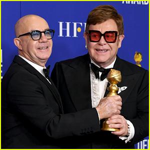 Elton John & Bernie Taupin Win First Award as a Duo at Golden Globes 2020