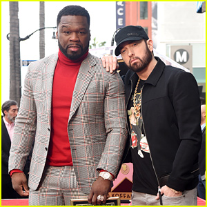 Eminem Honors 50 Cent During Walk of Fame Ceremony Speech (Video)