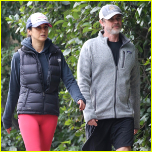 Emmanuelle Chriqui & Sam Trammell Head Out For A Hike Together in LA