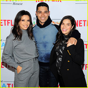 Eva Longoria, Wilmer Valderrama, & America Ferrera Celebrate the Latinx House at Sundance