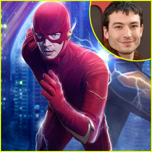Ezra Miller Cameos as 'The Flash' Alongside The Flash's Grant Gustin in 'Crisis on Infinite Earths'