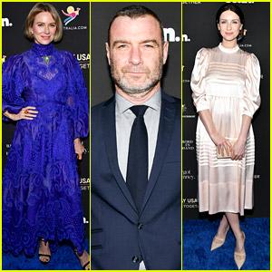 Naomi Watts, Liev Schreiber, Caitriona Balfe, & More Attend G'Day USA Dinner!