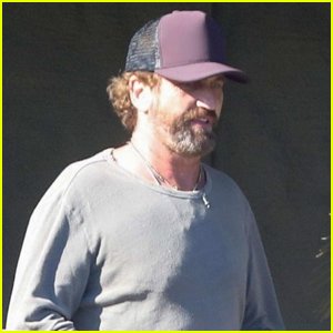 Gerard Butler Heads Out to Do Some Shopping in Malibu
