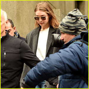 Gigi Hadid Leaves NYC Court House After Serving Jury Duty