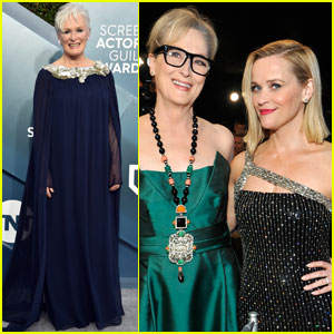 Meryl Streep & Glenn Close Step Out For SAG Awards 2020!