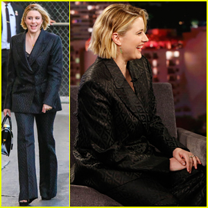 Greta Gerwig Tells 'Kimmel' She Called Out The HFPA for Not Nominating Her at the 2020 Golden Globes!