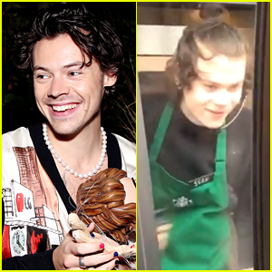 Harry Styles Has A Look A Like & He Works At Starbucks!