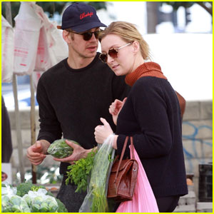 Hayden Christensen Joins a Female Friend For Farmer's Market Trip