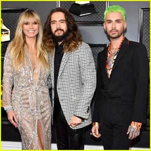 Heidi Klum & Tom Kaulitz Attend Grammys 2020 With Bill Kaulitz