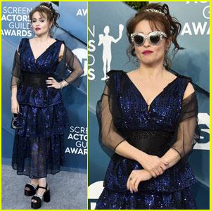 Helena Bonham Carter Rocks Shades at SAG Awards 2020