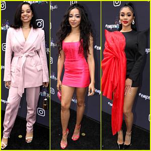 Ella Mai, Tinashe, & Saweetie Celebrate Women in Music at Instagram's Pre-Grammys Event