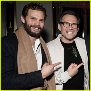 Jamie Dornan & Christian Slater Bring 'Dr. Death' to NBC's Peakcock Event