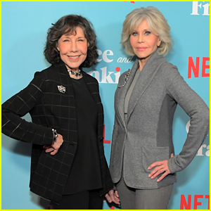 Jane Fonda & Lily Tomlin Celebrate Sixth Season of 'Grace And Frankie'