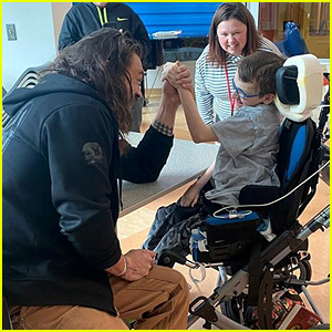 Jason Momoa Shares Sweet Photos of Children's Hospital Visit & Says It's 'Greatest Part of Being Aquaman'