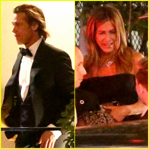 Brad Pitt Talks Reuniting with Jennifer Aniston, Then Attends Same Globes After Party as Her!