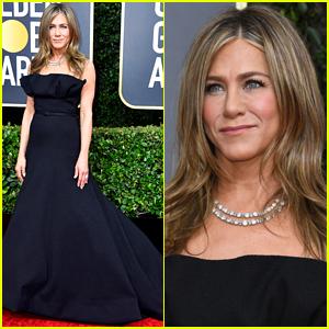 Nominee Jennifer Aniston Arrives for Big Night at Golden Globes 2020!