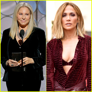 Barbra Streisand Reacts to Jennifer Lopez Wearing a Shirt of Her Face!