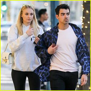 Joe Jonas Says Goodbye to Sophie Turner Ahead of Grammys Weekend