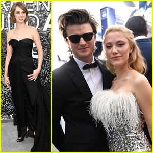 Maya Hawke & Joe Keery Support 'Stranger Things' at SAG Awards 2020